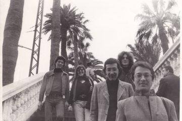 Sanremo 1972 scalinata Pezzana Cohen d'Eaubonne e altri militanti francesi